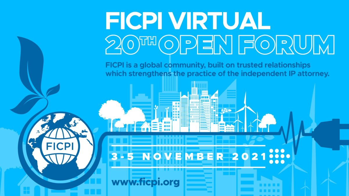 Our firm will speak at the next FICPI forum